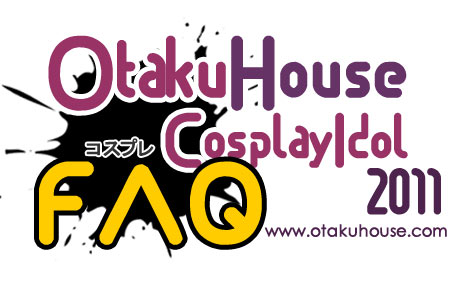 Otaku House Cosplay Idol Logo