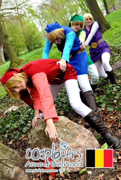 Link Four Swords Cosplay Legend Of Zelda  Four Swords