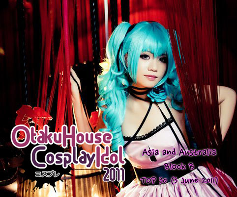 Leading 30 in Cosplay Idol Asia/Australia Album B (June 3, 2011)