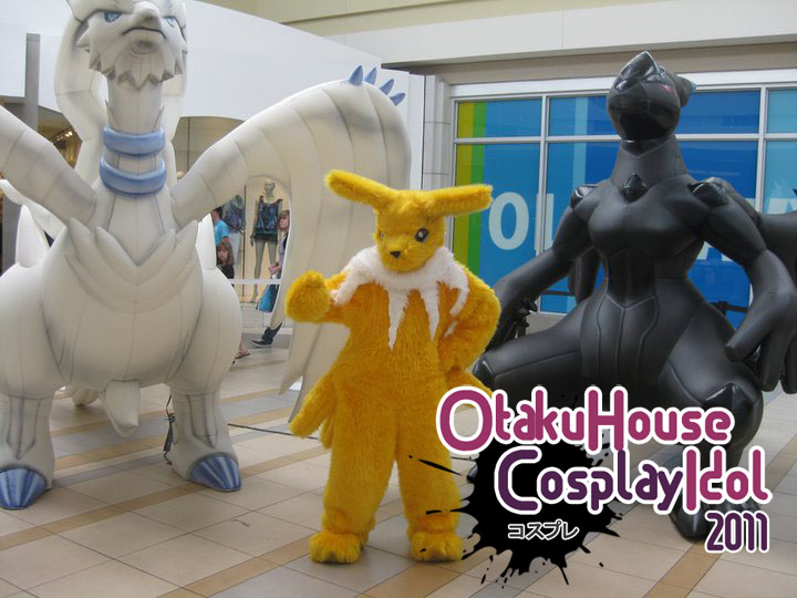 Lots of Digimon and Pokemon Cosplay in Idol Contest!
