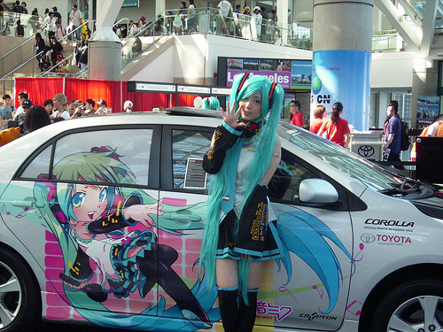 Los Angeles: ANIME EXPO! Review