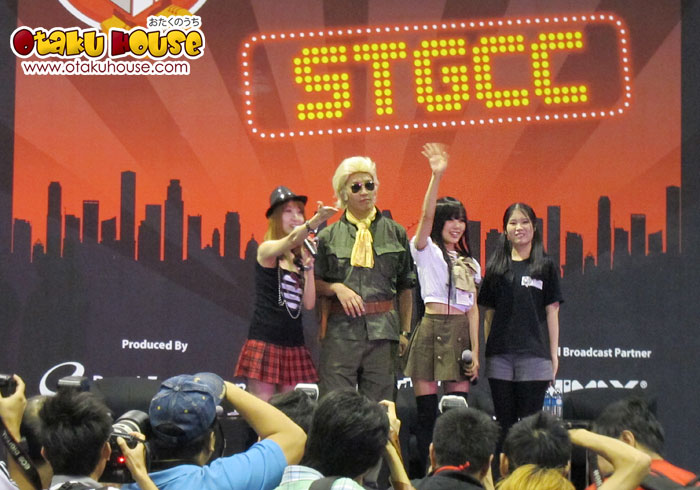 Cosplay Interview with Kipi and Jacky Dosai at STGCC
