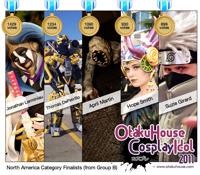 IT'S OUT! Otaku House Cosplay Idol 2011 – North America Finalists
