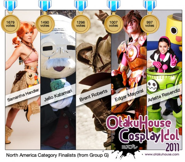 Otaku House Cosplay Idol North America Finalists 2011 (G)