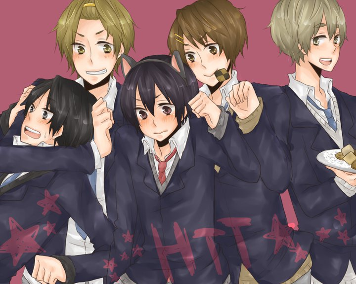 What if K-ON! was a male band?