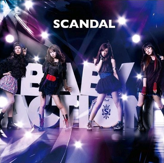 "SCANDAL Asia Tour 2011 ""Baby Action"" Singapore – Tickets Giveaway! SCANDAL-Baby-Action-Album-Cover-Otaku-House"