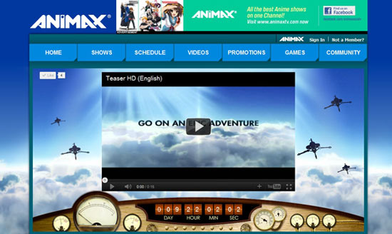 Animax Same Day Simulcast as Japan