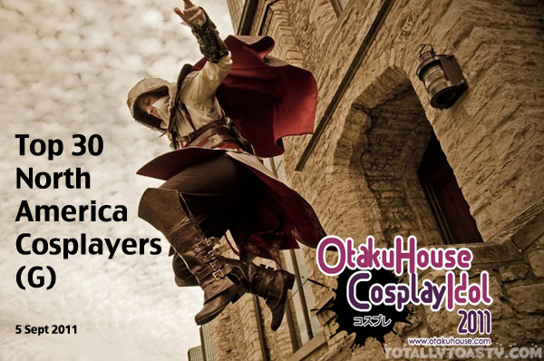 Top 30 in Cosplay Idol North America Album G (Sept 5, 2011)