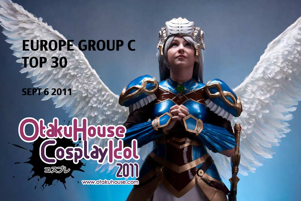 Leading 30 for Cosplay Idol Europe Album C, Sept 9 2011