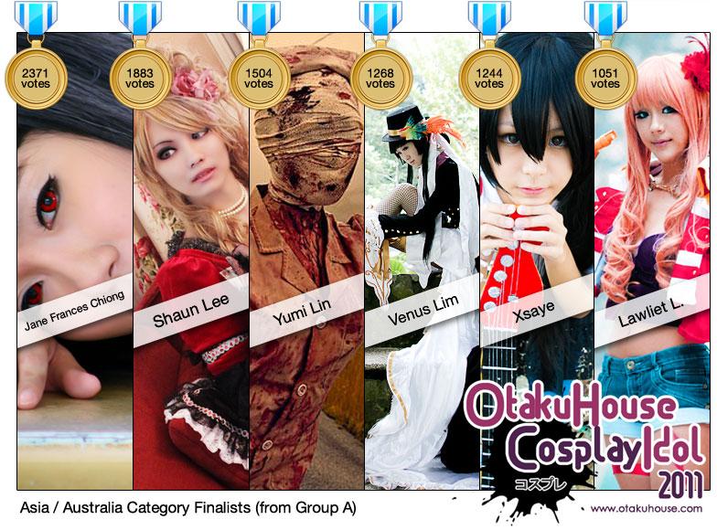 Otaku House Cosplay Idol Asia / Australia Finalists 2011 - A