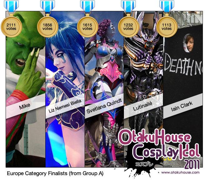 Otaku House Cosplay Idol 2011 - Europe
