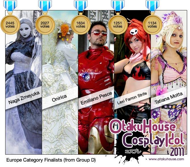 Otaku House Cosplay Idol - Europe Finalists 2011 (D)