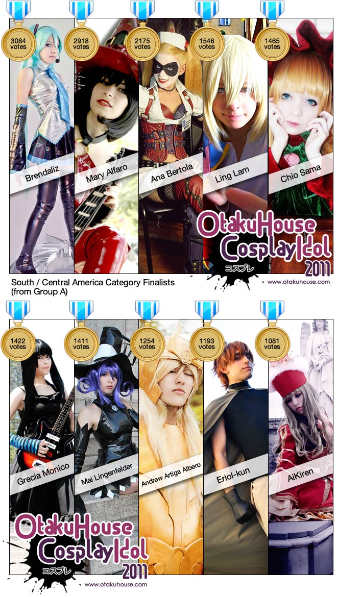 Otaku House Cosplay Idol - South / Central America Finalists (A) 2011