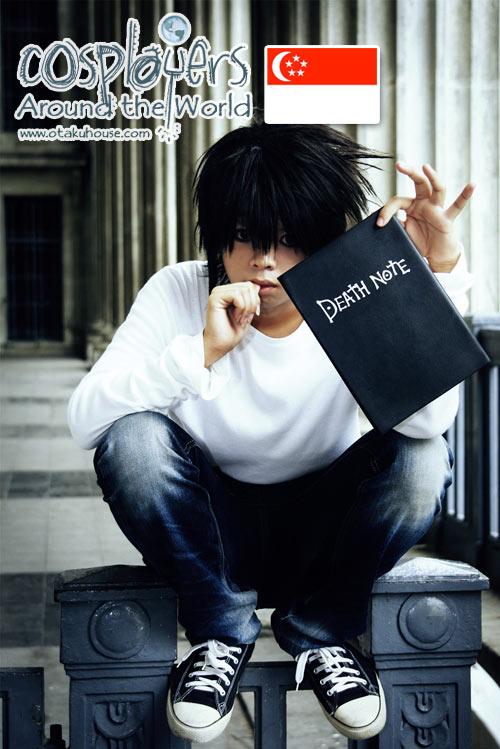 Death Note - L Cosplay - Otaku House