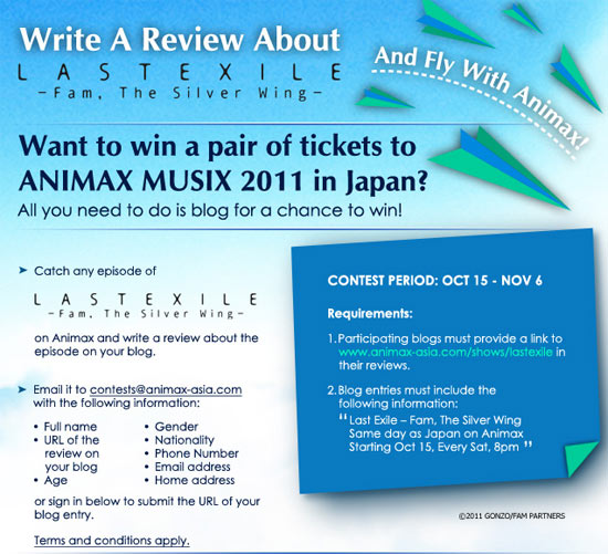 Win a Trip to Japan contest
