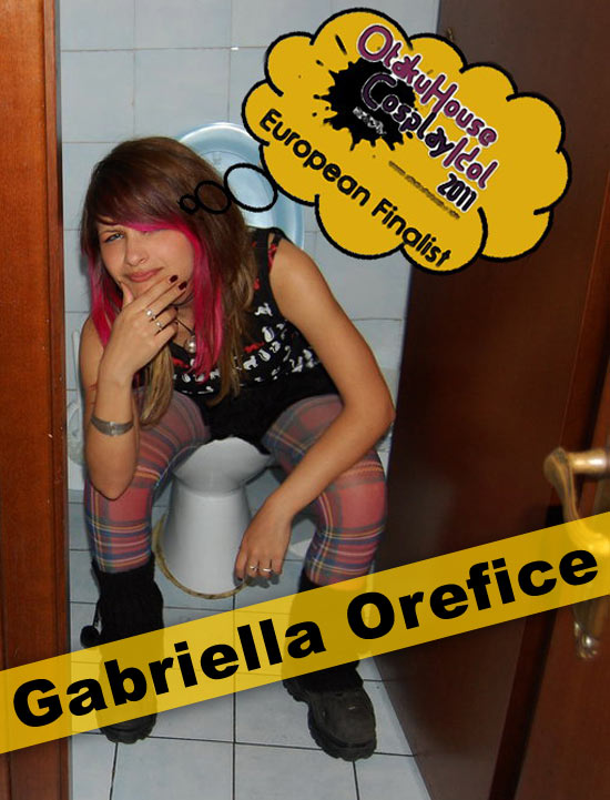 Otaku House Cosplay Contest Europe Finalist- Gabriella Orefice
