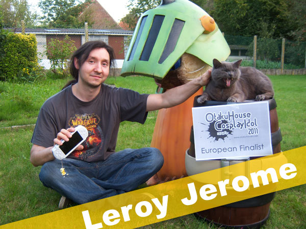 Otaku House Cosplay Contest Europe Finalist- Leroy Jerome
