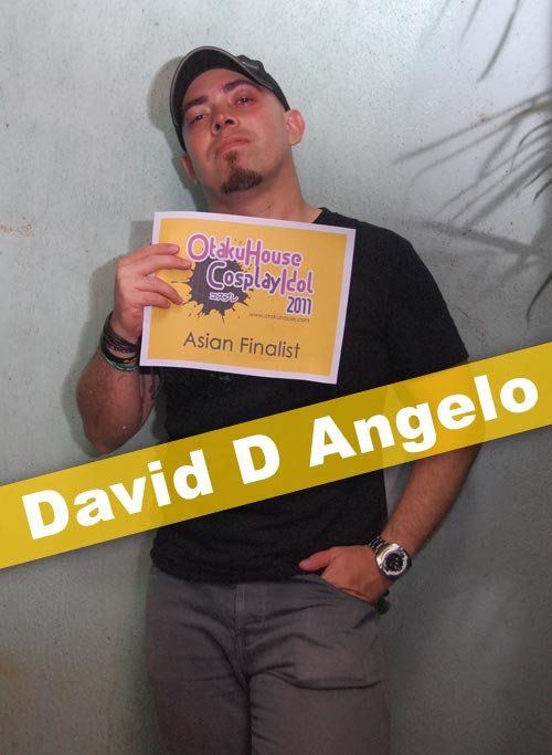 Otaku House Cosplay Contest Asian Finalist- David D Angelo