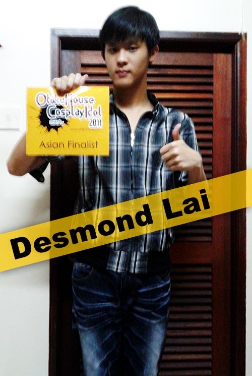 Otaku House Cosplay Contest Asian Finalist- Desmond Lai