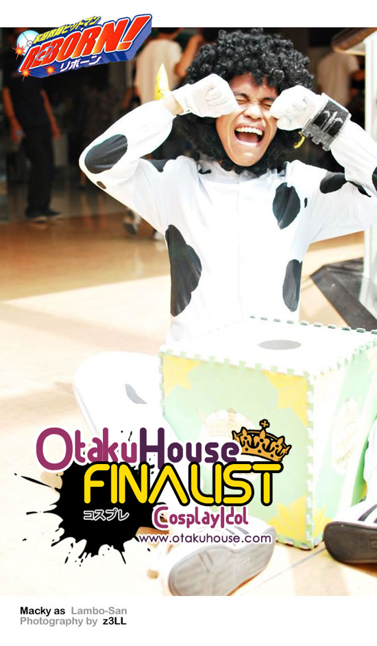 Otaku House Cosplay Contest Asian Finalist- Macky Martinez