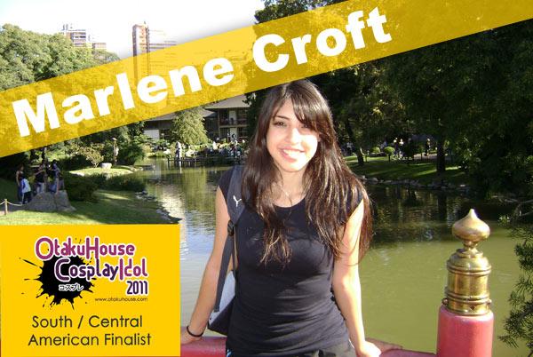 Otaku House Cosplay Contest S. America Finalist- Marlene Croft