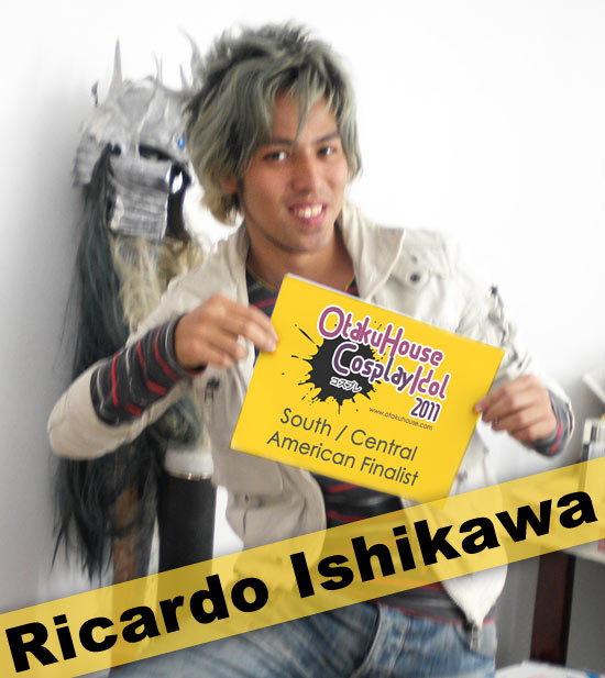 Otaku House Cosplay Contest S. America Finalist- Ricardo Ishikawa