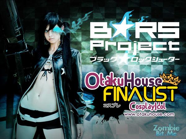 Otaku House Cosplay Contest Finalist - Shantel Knight (Black Rock Shooter)