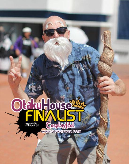 Otaku House Cosplay Contest Finalist - Steven Poirier (Master Roshi - Dragon Ball)