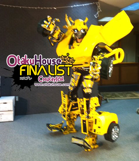 Otaku House Cosplay Contest Finalist - Thomas DePetrillo (Bumble Bee Transformers)