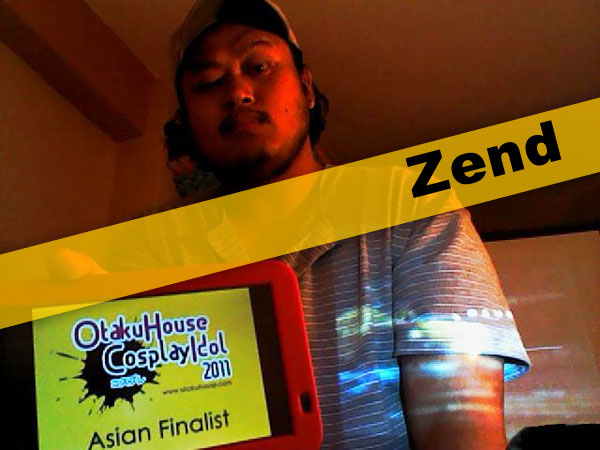 Otaku House Cosplay Contest Asian Finalist- Zend