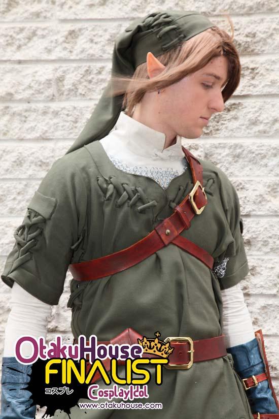 Otaku House Cosplay Idol North American Finalist - Brent Roberts as Link