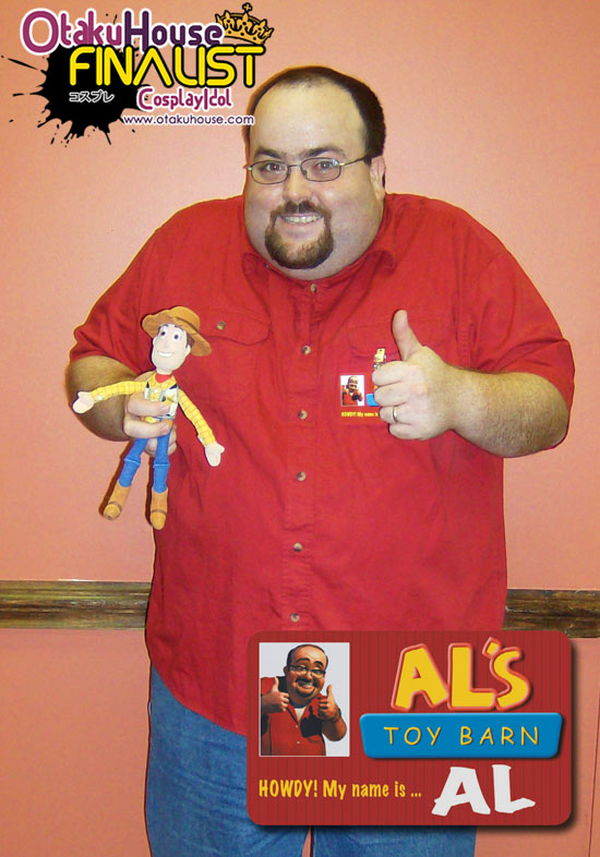 Otaku House Cosplay Contest Finalist - Jason Reeves as Al