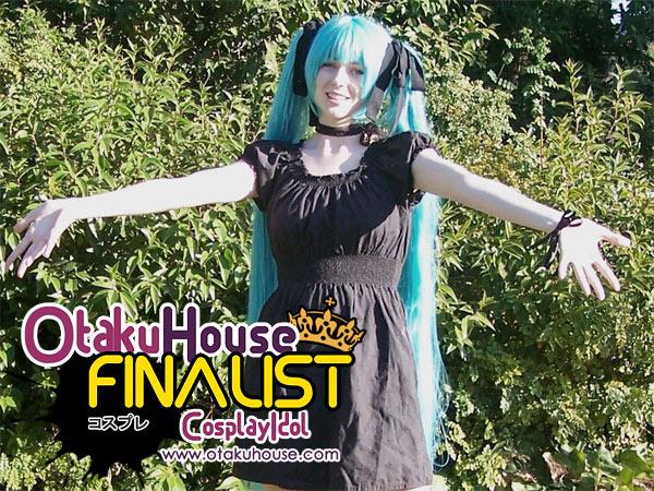 Otaku House Cosplay Contest Finalist - Lena Zarcone (Hatsune Miku)