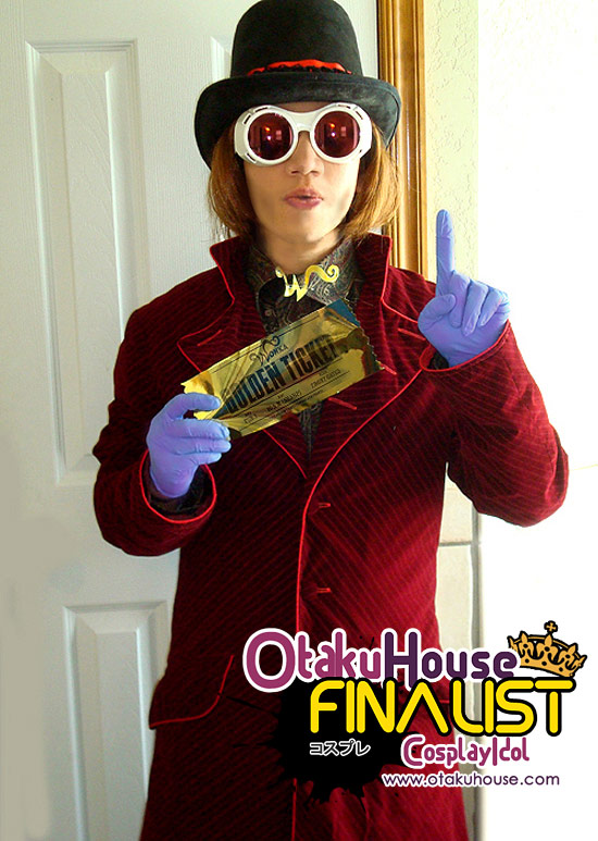 Otaku House Cosplay Contest Finalist - Paul Snyder (Willy Wonker)