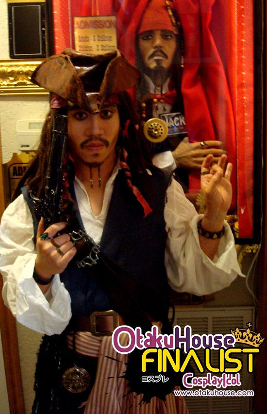 Otaku House Cosplay Contest Finalist - Paul Snyder (Jack Sparrow)