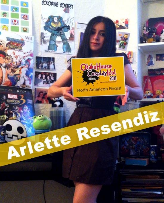 Otaku House Cosplay Idol North America Finalist - Arlette Resendiz