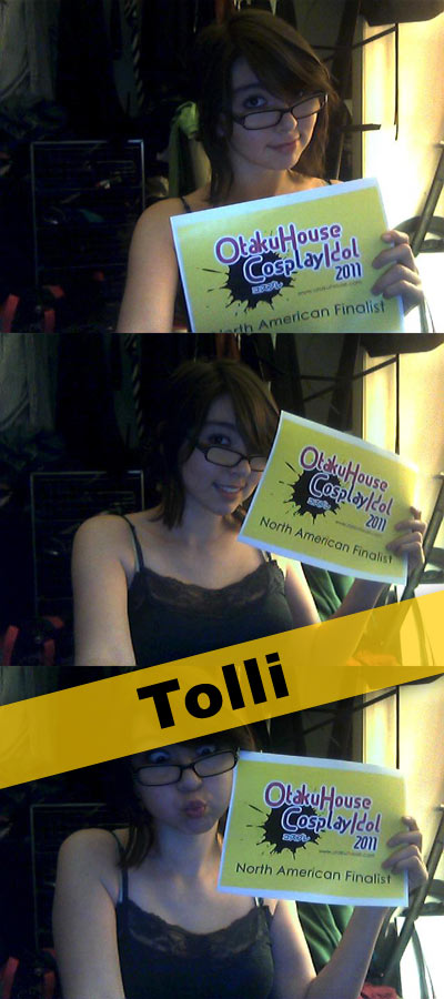 Otaku House Cosplay Idol North American Finalist - Brittany Valverde