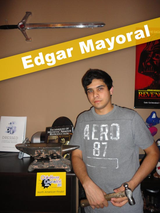 Otaku House Cosplay Idol Finalist - Edgar Mayoral