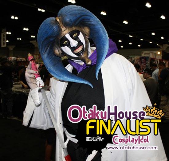 Otaku House Cosplay Contest Finalist - Jonathan Lerminiau as Mayuri (Bleach)