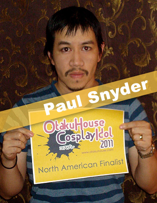 Otaku House Cosplay Contest Finalist - Paul Snyder