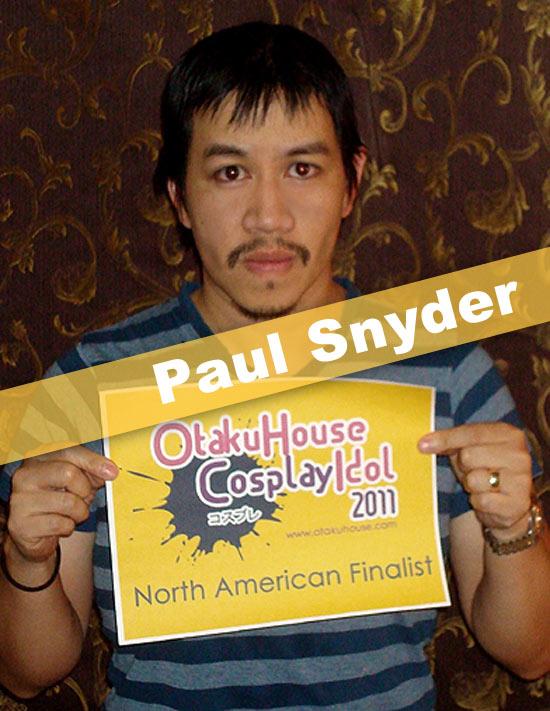 Otaku House Cosplay Contest Finalist - Paul Snyder