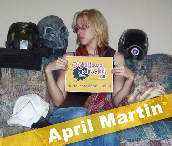 Otaku House Cosplay Idol Finalist - April Martin