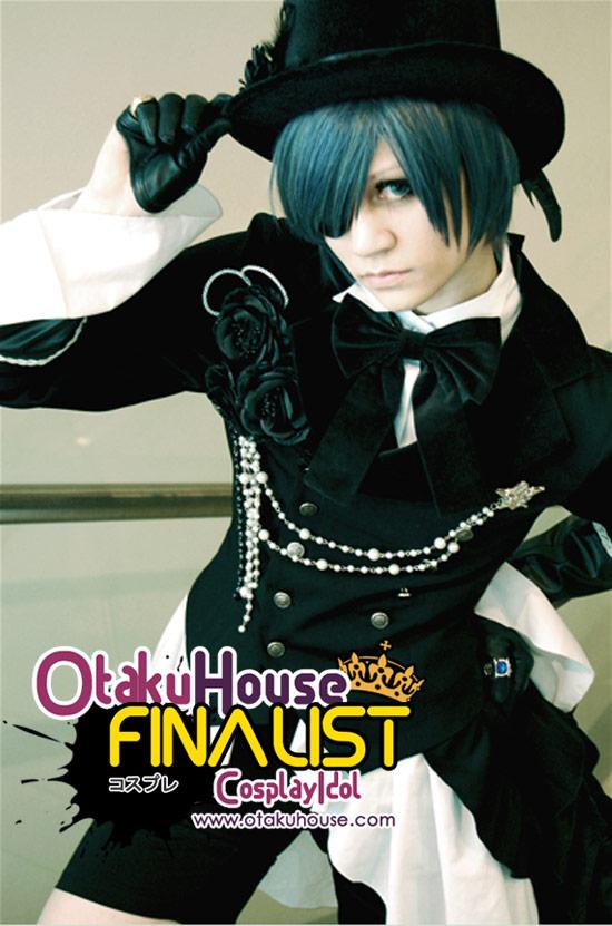 Otaku House Cosplay Contest Finalist - Jii B (Ciel Phantomhive)