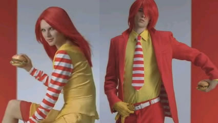 The Ultimate Ronald Mcdonald Cosplay