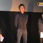Kaiji actor speaks at the movie theatre of the Movie Premiere