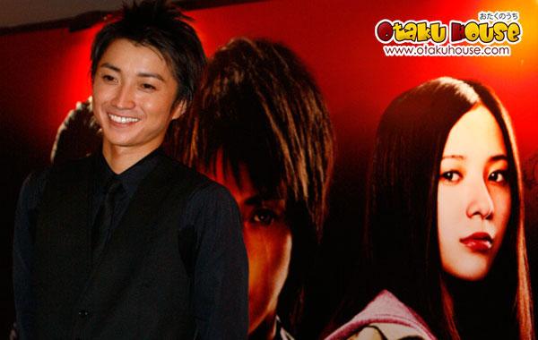 Kaiji 2 Singapore Press Conference with Tatsuya Fujiwara