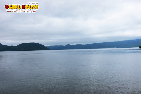 Lake Toya from Gintama