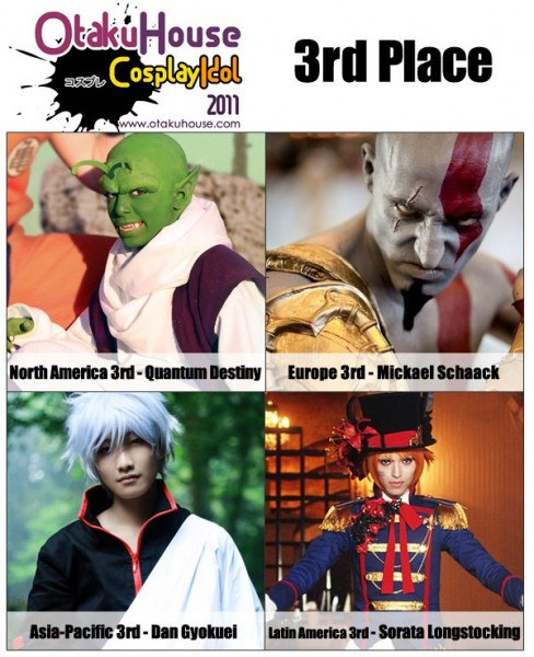 Otaku House Cosplay Idol 2011 - Second Runner Up