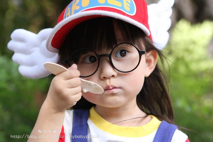Cute Dr Slump Arale Norimaki Cosplay