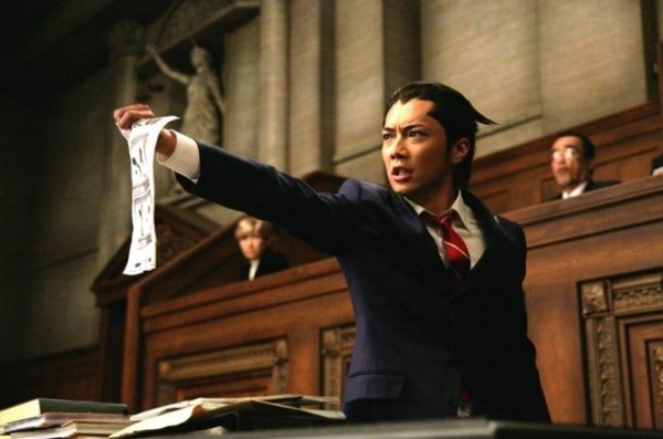 Gyakuten Saiban (Phoenix Wright : Ace Attorney) Live Action Movie